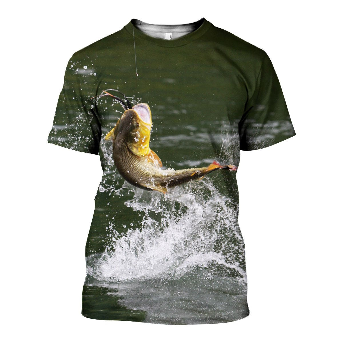 3D All Over Printed Bass Fishing Shirts and Shorts