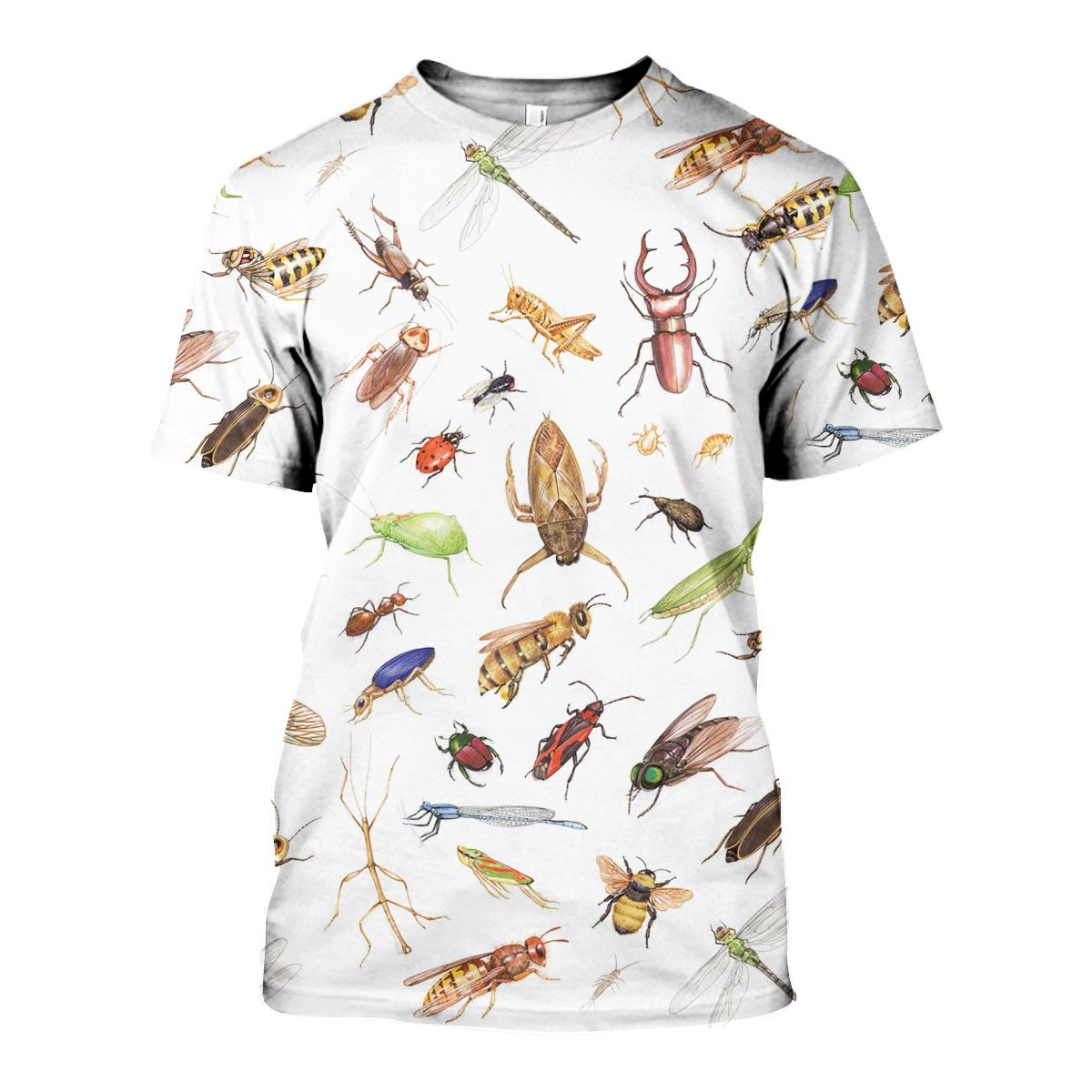 3D All Over Printed Insects Shirts and Shorts