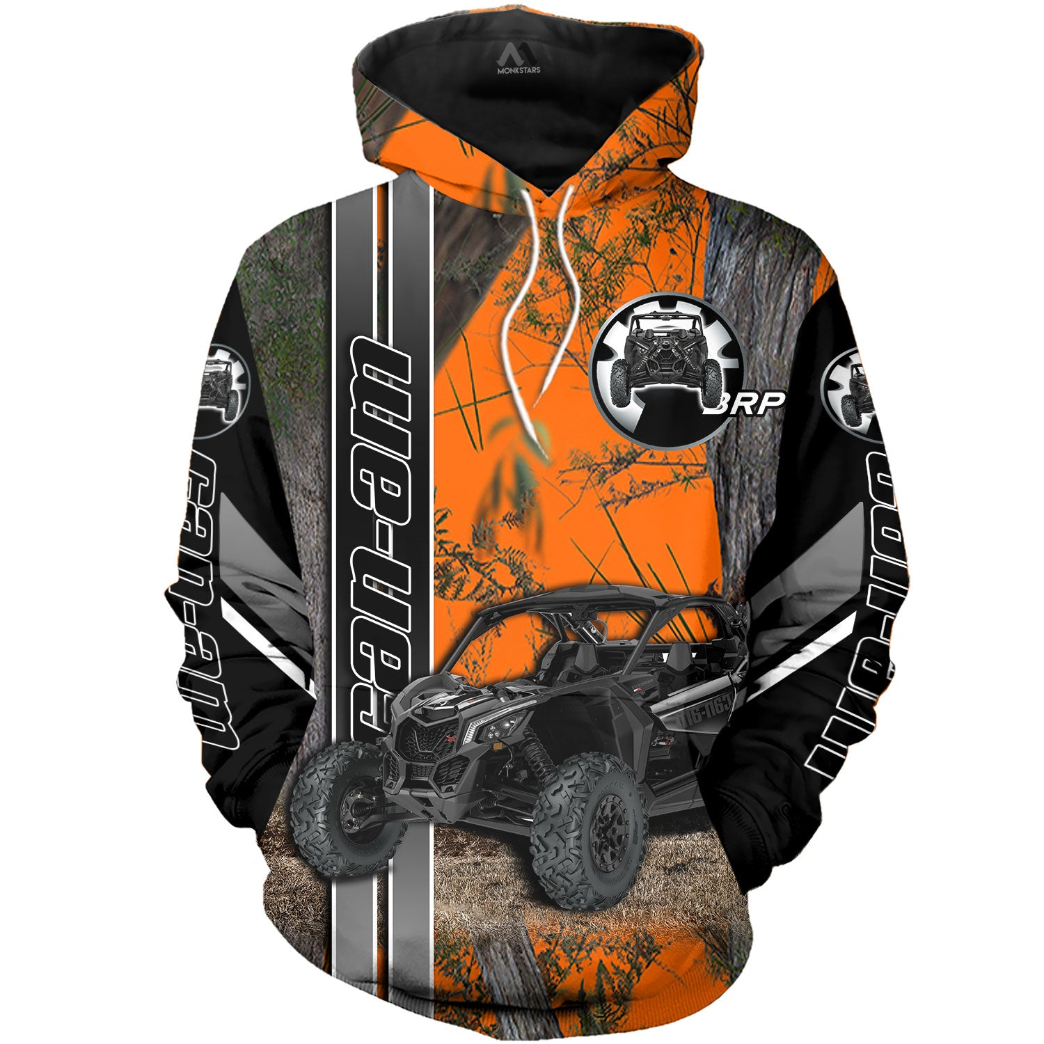 Can Am Off Road In Camo 3D All Over Printed Shirt For Men & Women