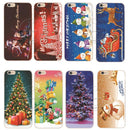 Christmas Tree Snowman Hard Protective Case For iPhone - gopowear.com