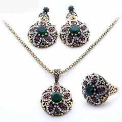 India Jewelry Sets J1013 - gopowear.com