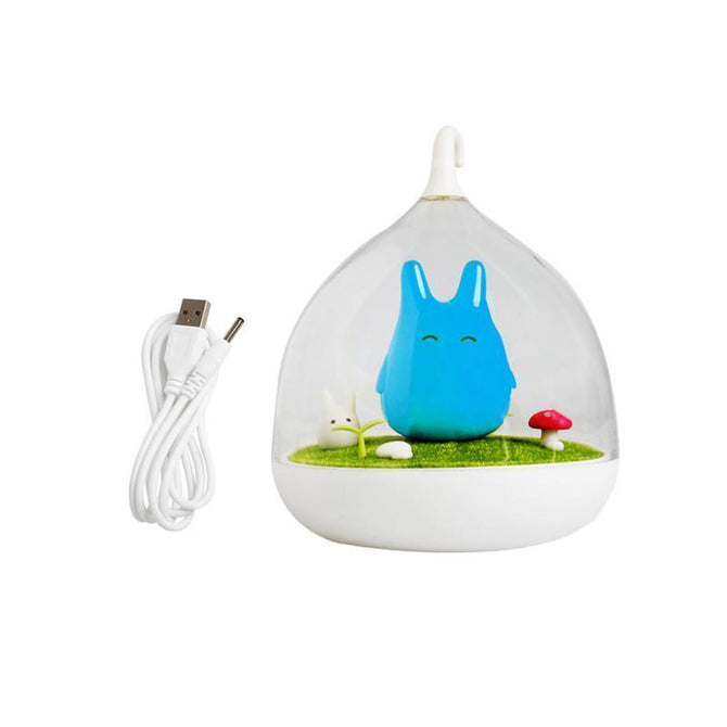 Newest Design Totoro Cute Portable Touch Sensor USB LED Night Lamp - gopowear.com