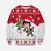 3D All Over Printed Christmas Ugly Sweater Bruce Springsteen  Shirts and Shorts - gopowear.com