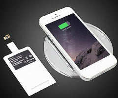 Wireless Charger Pad + Charging Adapter Receiver Coil For iPhone 7 6s Plus 5S SE 5C - gopowear.com