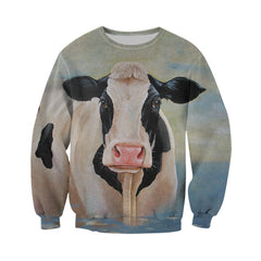 3D All Over Printed Cow Shirts and Shorts