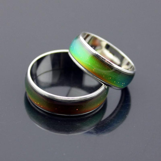Stainless Mood Feeling Emotion Temperature Color Changing Ring - gopowear.com