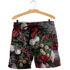 3D All Over Printed Christmas Tree Shirts and Shorts