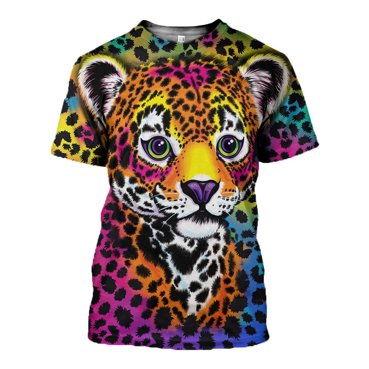 3D All Over Printed Colorful Panther  Shirts And Shorts