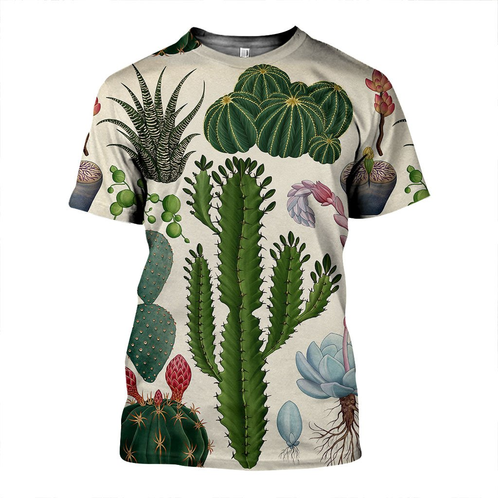 3D All Over Printed Cactus Shirts and Shorts