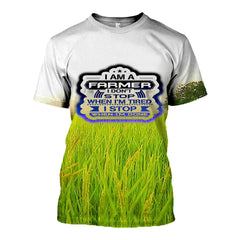 3D printed Paddy Field Tops