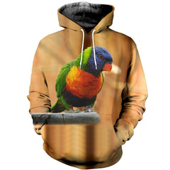 3D printed Parrot T-shirt Hoodie ST0L190408