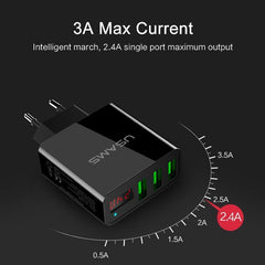 3 Port Smart Fast Charger for iPhone iPad - gopowear.com