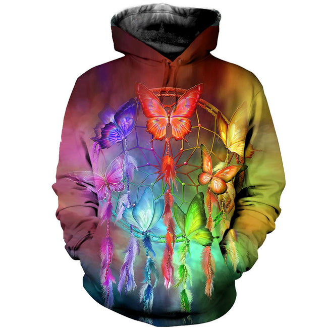 3D printed Butterfly And Dream T-shirt Hoodie AHDK290304
