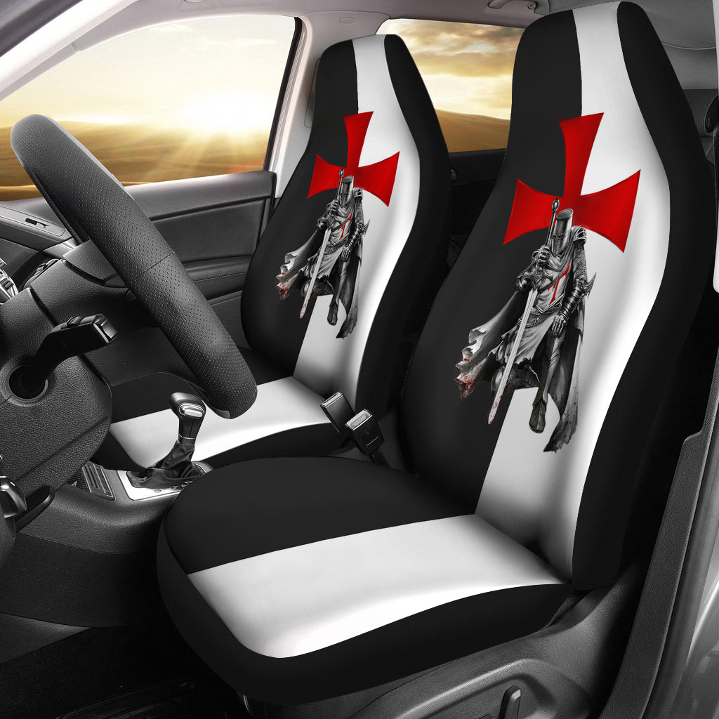 Car Seat Cover - Knights Templar