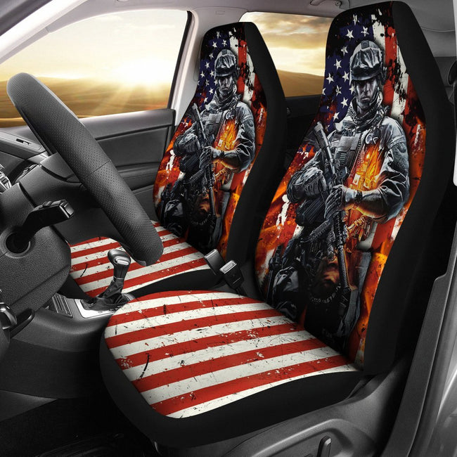 U.S. Soldier-Car seat covers-tom20 - gopowear.com