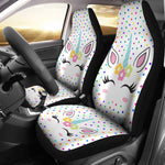 2pcs Unicorn Car Seat Cover