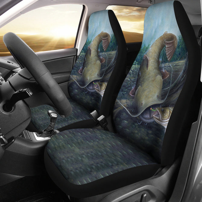 Car Seat Covers - Flathead Catfish