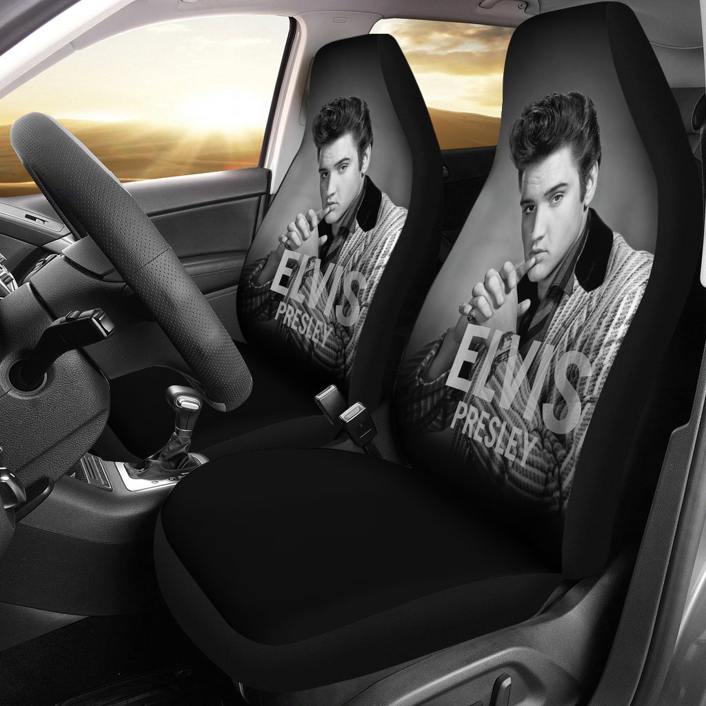2pcs Car Seat Covers - Elvis - gopowear.com