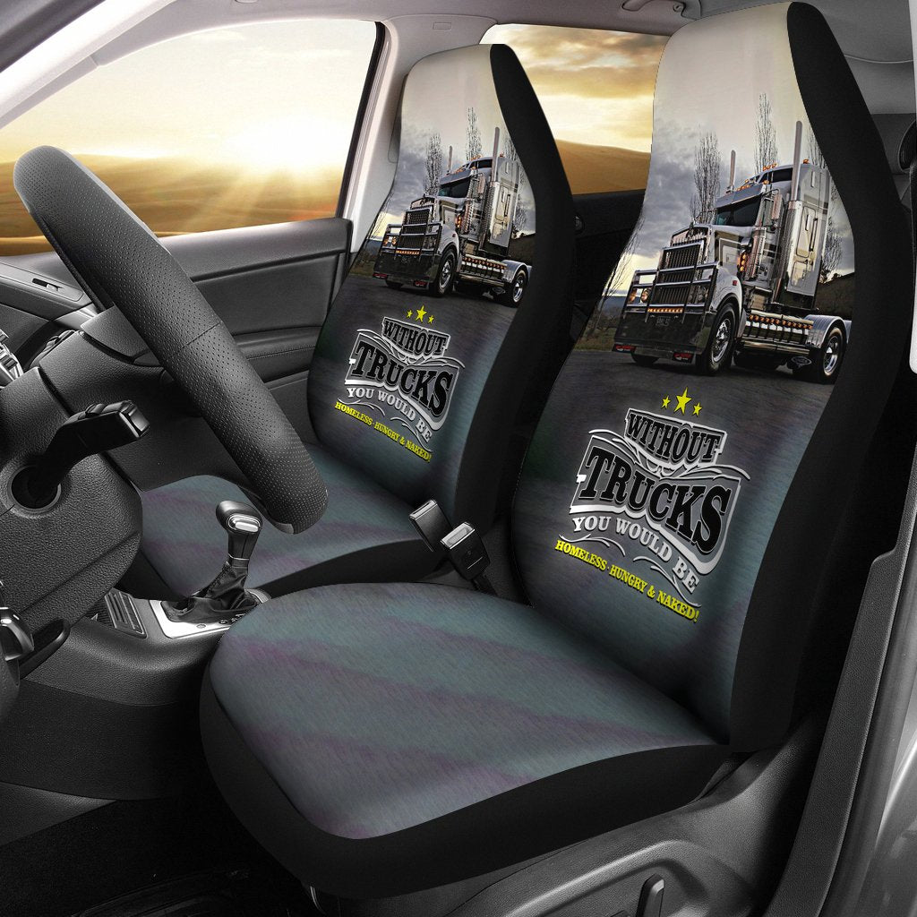 2pcs Truck Car Seat Cover