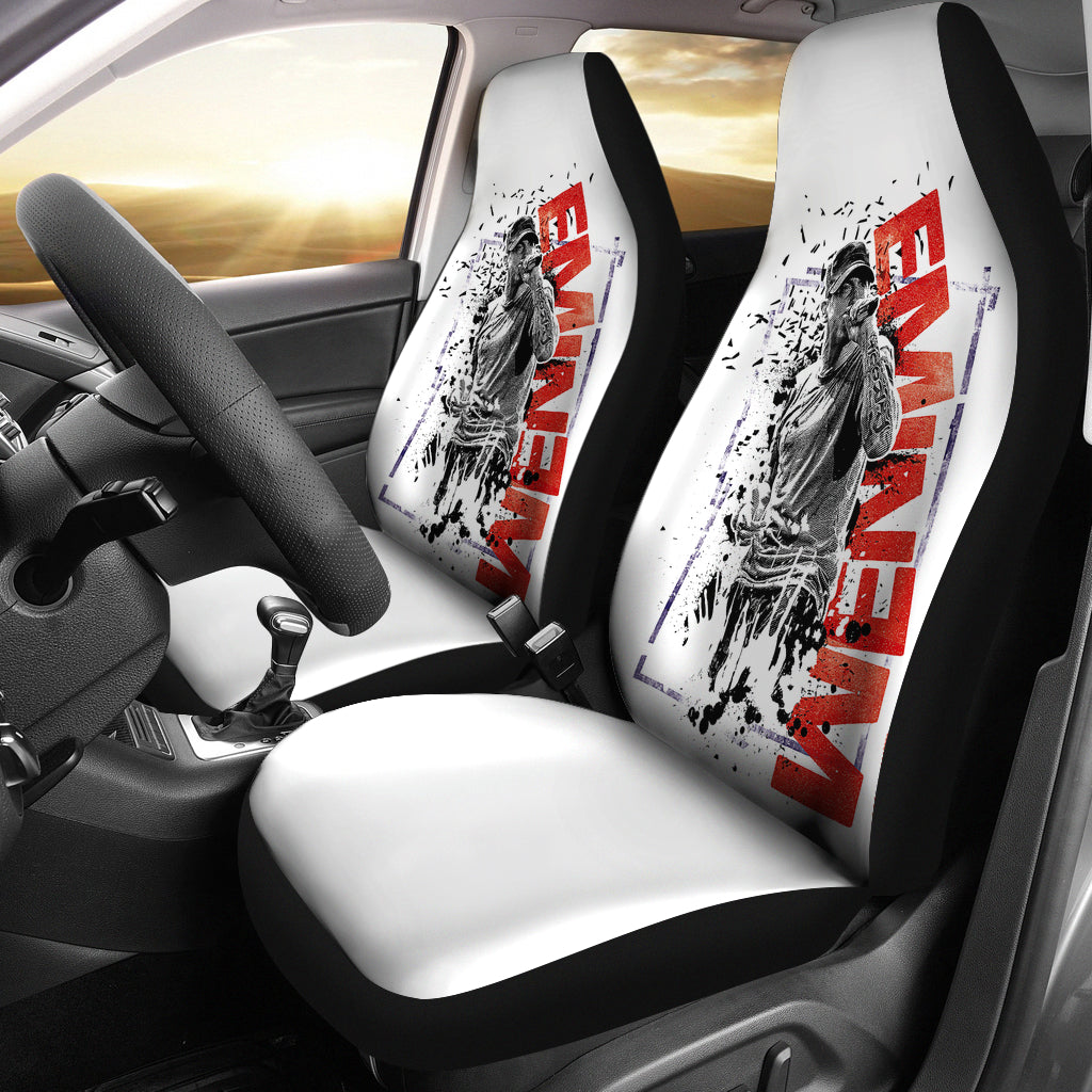 Car Seat Covers - Eminem Singer