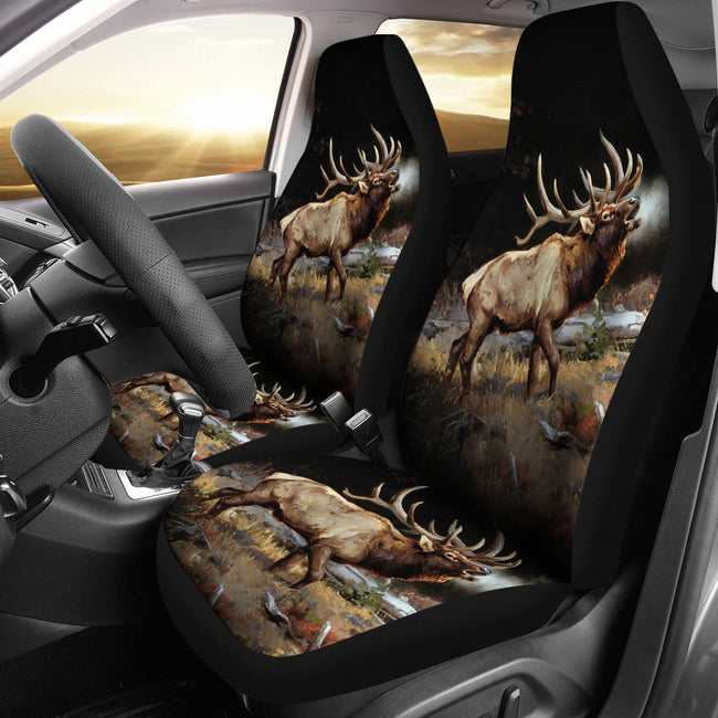 Car Seat Covers - Love Deer