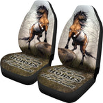 Car Seat Covers - Riding Horse