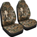 2pcs Deer hunting Car Seat Cover
