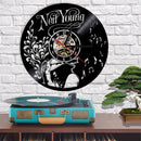Neil Young Vinyl Record Wall Clock - gopowear.com