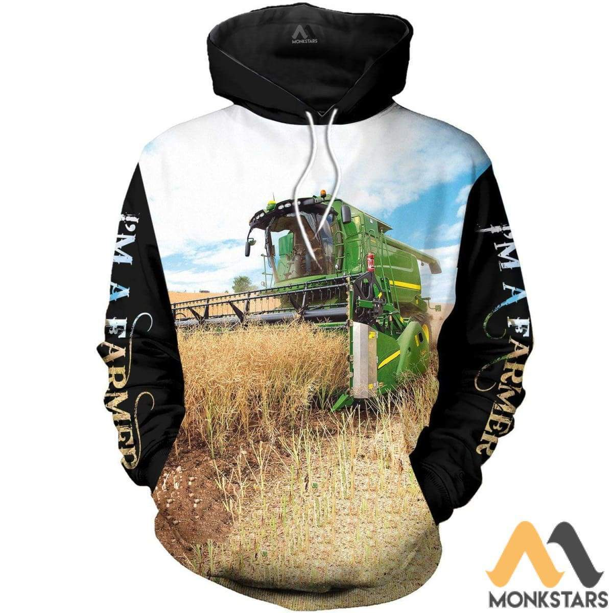 John Deere 3D All Over Printed Shirts For Men & Women Hoodie / S Clothes