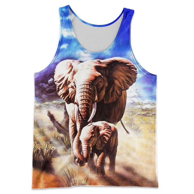 e399ecbbd9d1 3D All Over Printed Beautiful Elephants Shirts And Shorts – gopowear.com