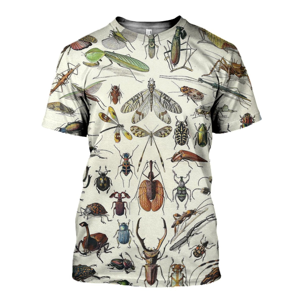 3D All Over Printed Insect Scientific Shirts and Shorts