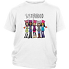 Sisterhood cartoon shirt - gopowear.com