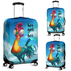 Luggage Cover - Hei Girl Hei -  ATUM020402 - gopowear.com
