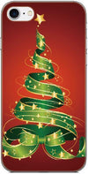 Merry Christmas Back Skin Cover For iPhone