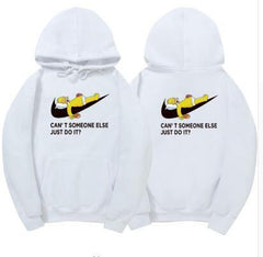JUST DO IT funny Hoodie