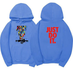 JUST DO IT funny Hoodie - gopowear.com
