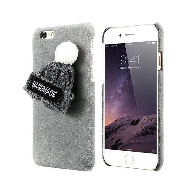 Winter Plush Case For iPhone - gopowear.com