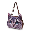 3D Cat Shoulder Handbag - gopowear.com