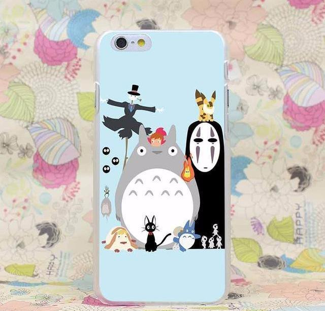 Ghibli Spirited Away Totoro Iphone Case for iPhone