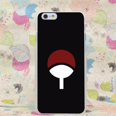 Naruto Hard Transparent Case for iPhone