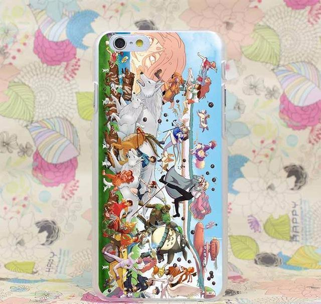 Ghibli Spirited Away Totoro Iphone Case for iPhone - gopowear.com