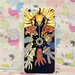 Naruto Hard Transparent Case for iPhone - gopowear.com