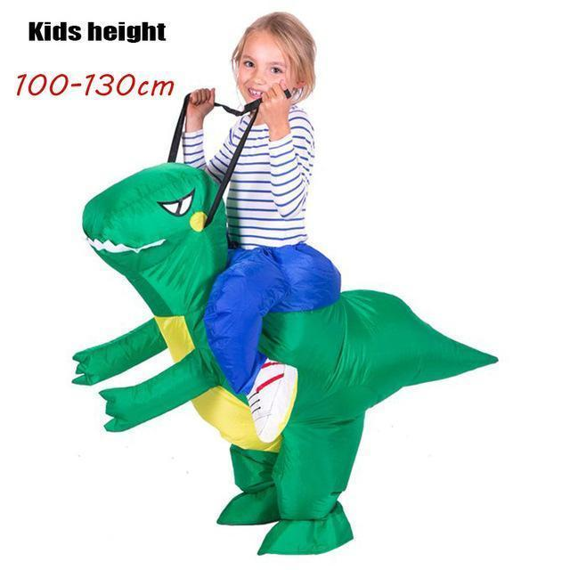 Inflatable Dinosaur Costume for Adult Kids - gopowear.com