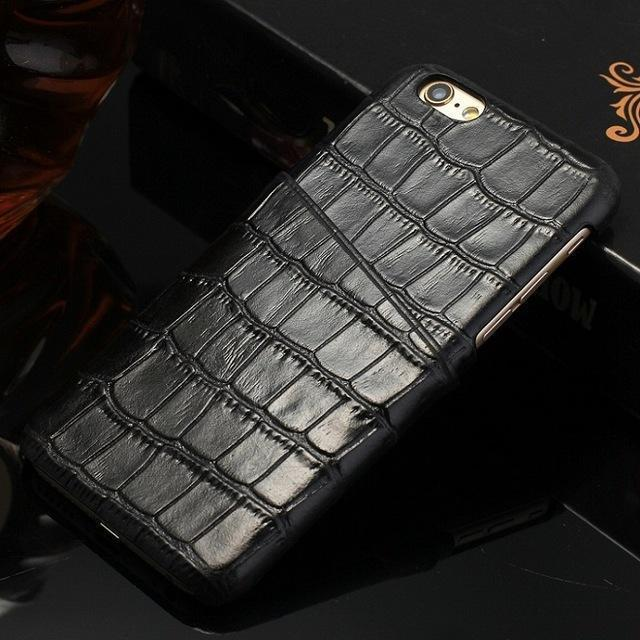 Real Leather Case with Card Holder For iPhone 7/8 (Plus) - gopowear.com