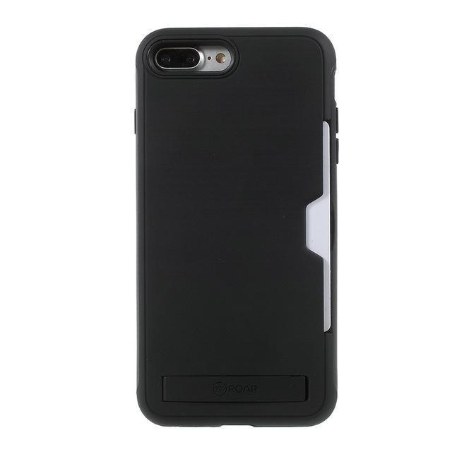 PC + TPU Combo Cases For iPhone 7/8 Plus Card Holder - gopowear.com
