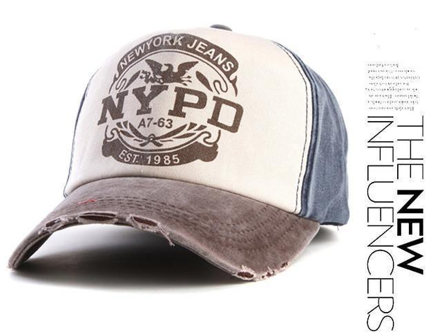 Vintage Style NYPD New York Jeans Co. cap