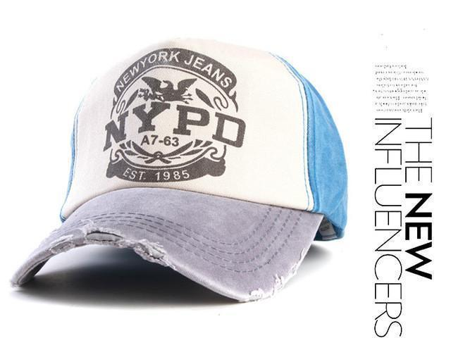 Vintage Style NYPD New York Jeans Co. cap - gopowear.com