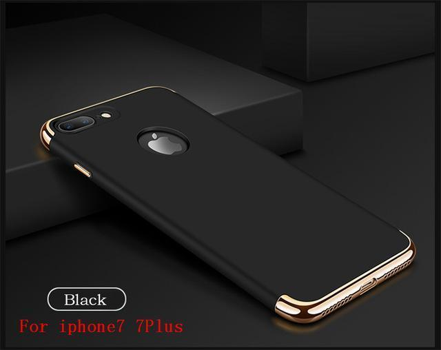 Luxury Ultra Thin Shockproof Case for iPhone
