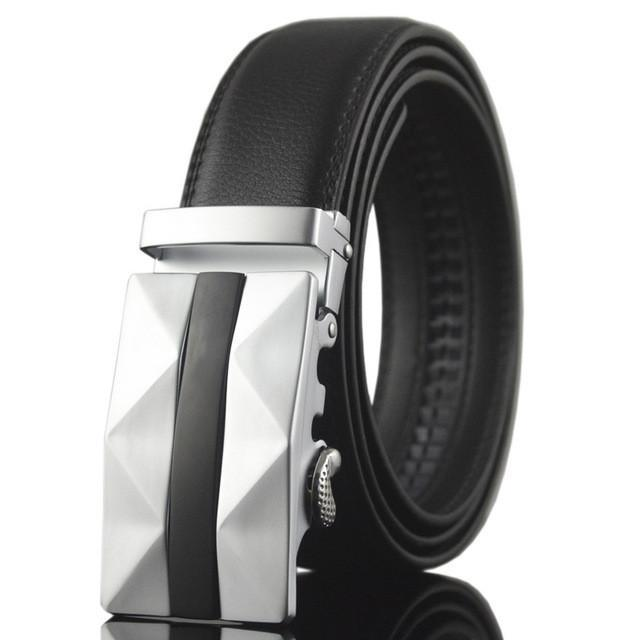 Smooth Automatic Buckle Belts For Men B004 - gopowear.com