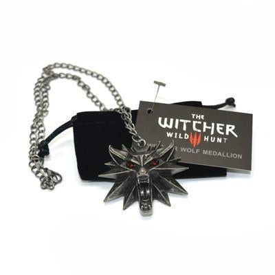 The Witcher 3 Medallion Wizard 99% Original Necklace - gopowear.com